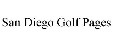 SAN DIEGO GOLF PAGES