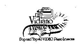 VIDIANO POP AND TOP 40 VIDEO PIANO LESSONS