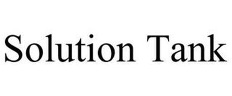 SOLUTION TANK