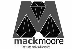 M MACKMOORE PRESSURE MAKES DIAMONDS