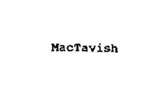 mactavish machine manufacturing co