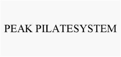 PEAK PILATESYSTEM