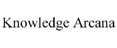 KNOWLEDGE ARCANA