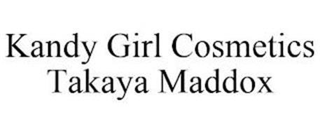 KANDY GIRL COSMETICS TAKAYA MADDOX