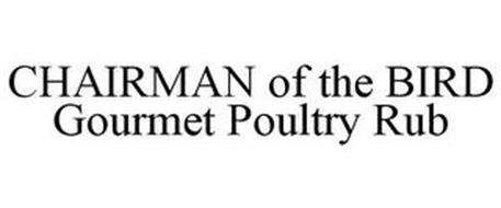 CHAIRMAN OF THE BIRD GOURMET POULTRY RUB