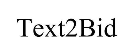 TEXT2BID