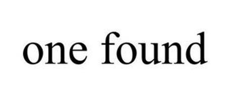 ONE FOUND