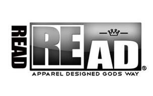 READ  READ  APPAREL DESIGNED GODS WAY