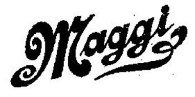 MAGGI Trademark of MAGGI CO., THE. Serial Number: 71146973 ... | {Maggi logo 34}
