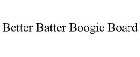 BETTER BATTER BOOGIE BOARD