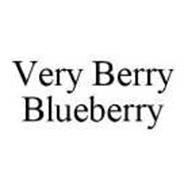 VERY BERRY BLUEBERRY