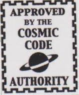 APPROVED BY THE COSMIC CODE AUTHORITY