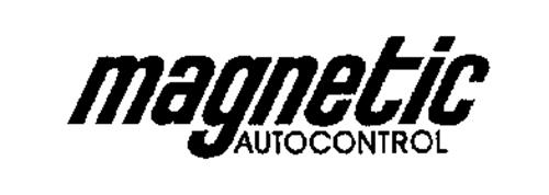 magnetic autocontrol trademark of magnetic autocontrol gmbh  serial number  76187552