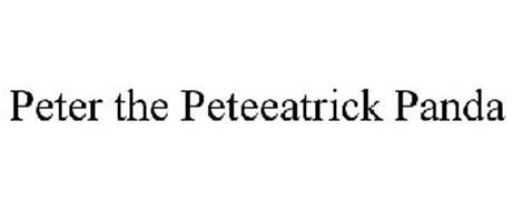 PETER THE PETEEATRICK PANDA