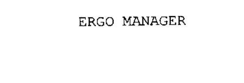 ERGO MANAGER