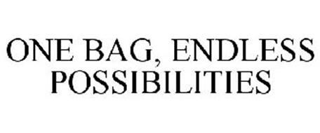 ONE BAG, ENDLESS POSSIBILITIES