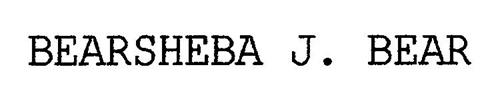 BEARSHEBA J. BEAR