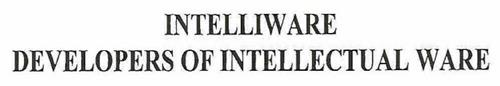 INTELLIWARE DEVELOPERS OF INTELLECTUAL WARE
