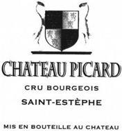 CHATEAU PICARD CRU BOURGEOIS SAINT-ESTÈPHE MIS EN BOUTEILLE AU CHATEAU