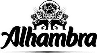 1925 ALHAMBRA ALHAMBRA