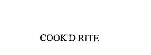 COOK'D RITE