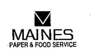 maines paper and food service Evaluate business information for maines paper & food service in syracuse, ny use the d&b business directory at dandbcom to find more company profiles.