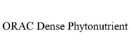 ORAC DENSE PHYTONUTRIENT