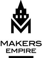 M MAKERS EMPIRE