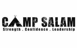 CAMP SALAM STRENGTH . CONFIDENCE . LEADERSHIP