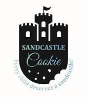 SANDCASTLE COOKIE EVERY CHILD DESERVES A SANDCASTLE!