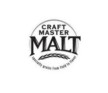 CRAFT MASTER MALT SPECIALTY GRAINS FROM FIELD TO FLAVOR