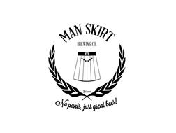 MAN SKIRT BREWING CO. NO PANTS, JUST GREAT BEER!
