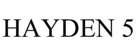 HAYDEN 5