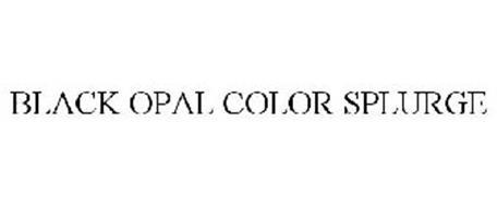 BLACK OPAL COLORSPLURGE