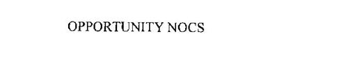 OPPORTUNITY NOCS