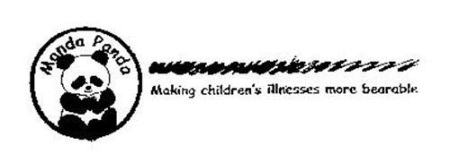 MANDA PANDA MAKING CHILDREN'S ILLNESSES MORE BEARABLE
