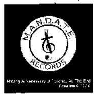 M.A.N.D.A.T.E. RECORDS