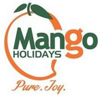 MANGO HOLIDAYS PURE. JOY.