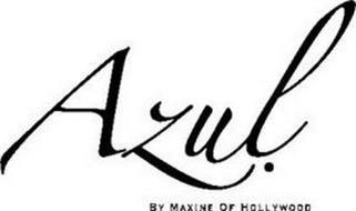 AZUL. BY MAXINE OF HOLLYWOOD