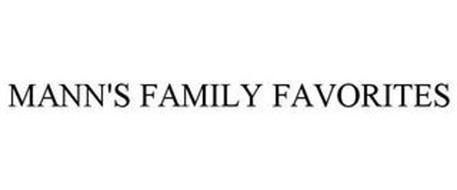 MANN'S FAMILY FAVORITES