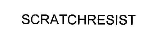 SCRATCHRESIST