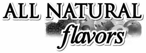 ALL NATURAL FLAVORS