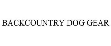 BACKCOUNTRY DOG GEAR