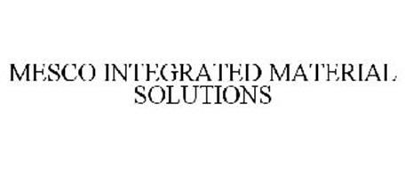 MESCO INTEGRATED MATERIAL SOLUTIONS