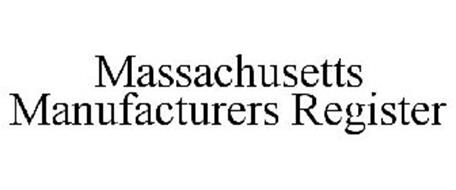 MASSACHUSETTS MANUFACTURERS REGISTER