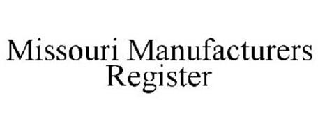MISSOURI MANUFACTURERS REGISTER