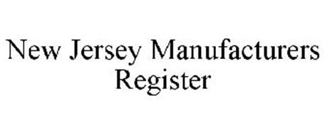 NEW JERSEY MANUFACTURERS REGISTER