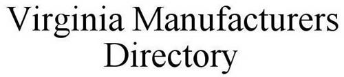 VIRGINIA MANUFACTURERS DIRECTORY