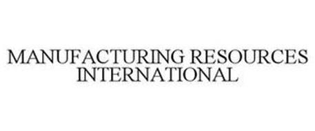 MANUFACTURING RESOURCES INTERNATIONAL