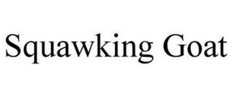 SQUAWKING GOAT
